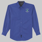 Adult Long-Sleeve Twill - Royal Blue